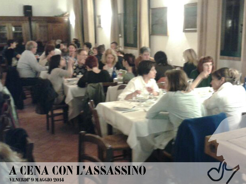 A cena con l'assassino